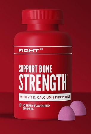 Fight Support Bone Strength gummies