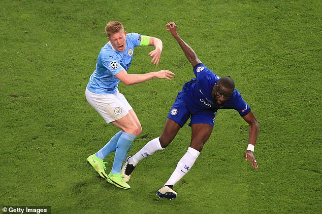 The Belgian fractured his nose and eye socket after clashing with Chelsea's Antonio Rudiger