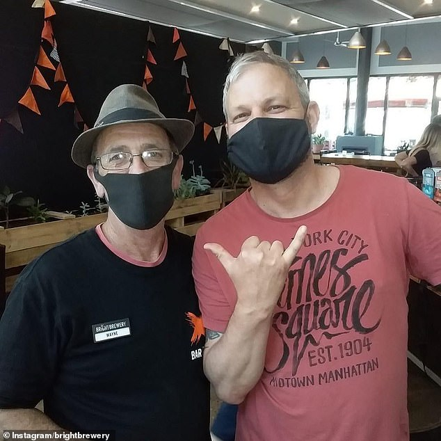 Chief Health officer Brett Sutton (right) has described the virus as a 'beast' and has been criticised for scaring Victorians
