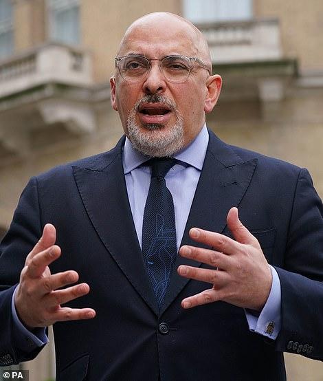 Vaccines Minister Nadhim Zahawi