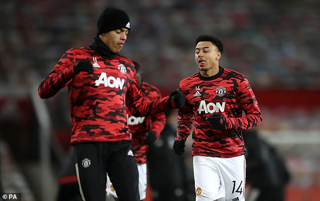 Mason Greenwood (left) and Jesse Lingard (right) will not play for England at Euro 2020