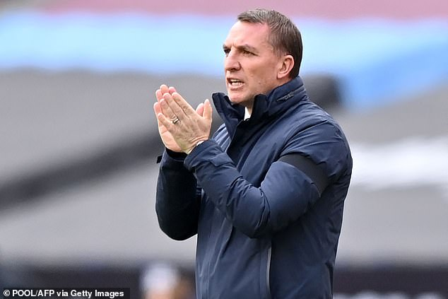 Brendan Rodgers was also nominated despite his Leicester side slipping to fifth this season