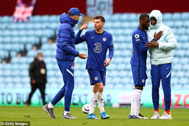 Mason Mount is also in contention for the prize after shining once again for Chelsea