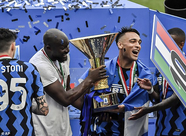 His goalscoring heroics earned Inter Milan their first Serie A title for nine years this season