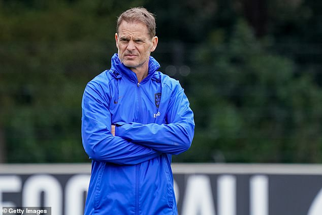 Holland boss Frank de Boer dropped the 32-year-old from his squad on Tuesday morning