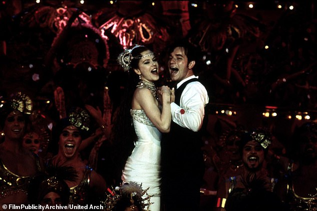 They sizzled together: Nicole and Ewan were the lovebirds of the movie that were perfectly matched; at the time of filming she was wed to Tom Cruise