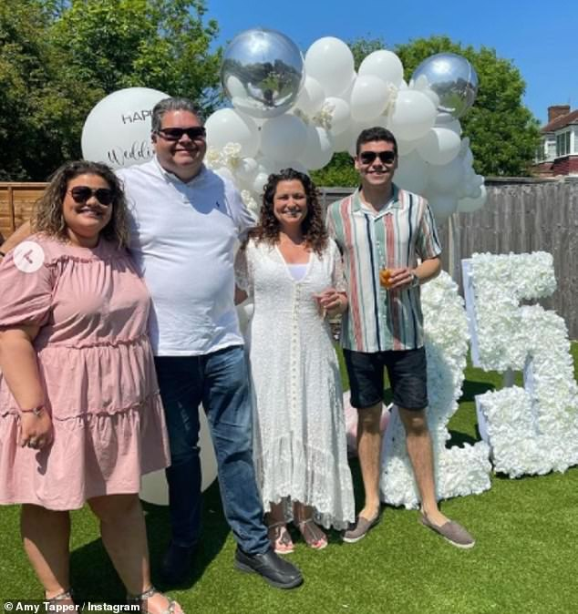 'Can't get over yesterday': Gogglebox's Amy Tapper shared a glimpse into the silver wedding anniversary party she and her brother Josh threw for their parents