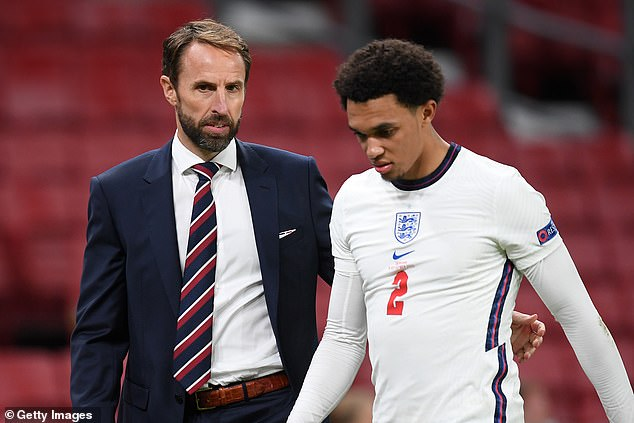 Alexander-Arnold's place had looked in danger but Southgate made a big call to include him