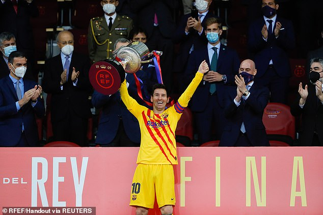 Finer details need to be ironed out by the Argentine is now expected to stay at the club where he has won 34 trophies