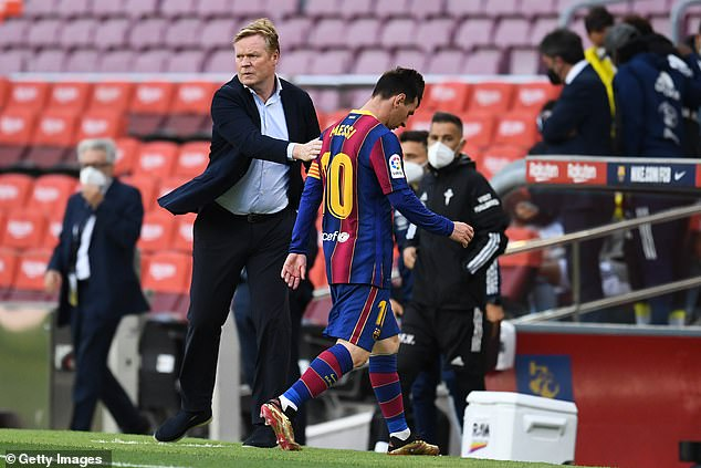 Barcelona boss Ronald Koeman is also set to remain in charge and is poised to sign fresh terms