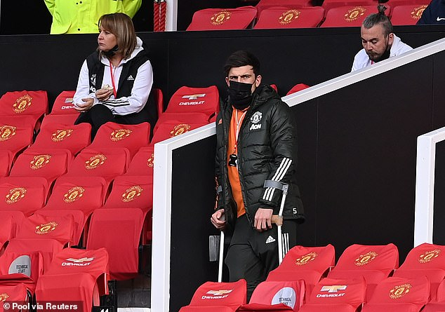 The Manchester United captain missed their last five games of the season with an ankle issue