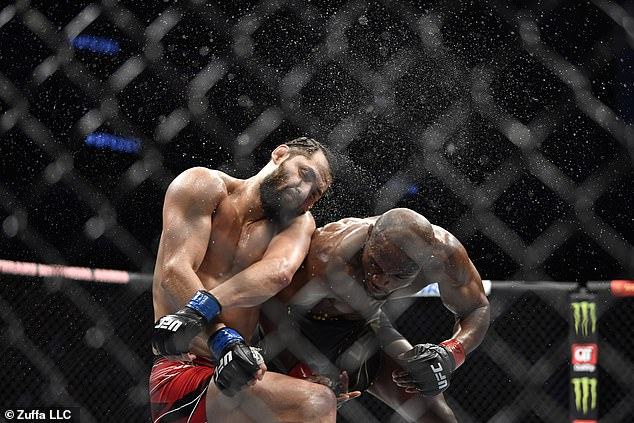 Usman stunned Jorge Masvidal with a knockout victory in the main event of UFC 261