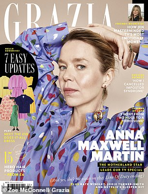 The new issue of Grazia is on newsstands now