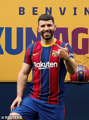 Aguero signed a two-year deal