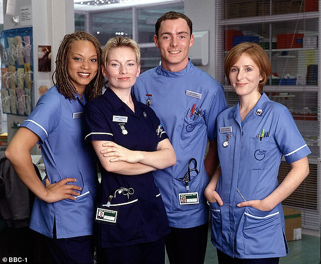 'Difficult decision': The network have slated the medical drama to come to a conclusion on screen in March next year [pictured is a cast shot from 1999]