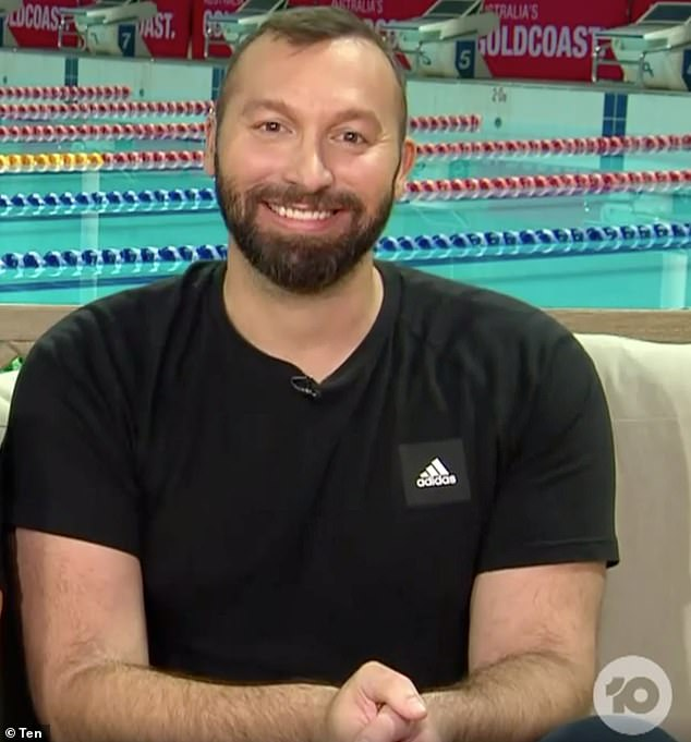 Singing career? On Tuesday night, Ian Thorpe [pictured] revealed he was offered a record deal on The Project - even though he can't sing