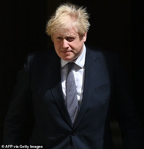 Prime Minister Boris Johnson today