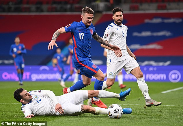 Southgate has remained loyal to Kieran Trippier for most of his time as England manager