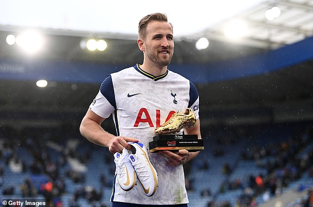 Harry Kane, who finished top of both the scoring and assist charts this term, is also nominated
