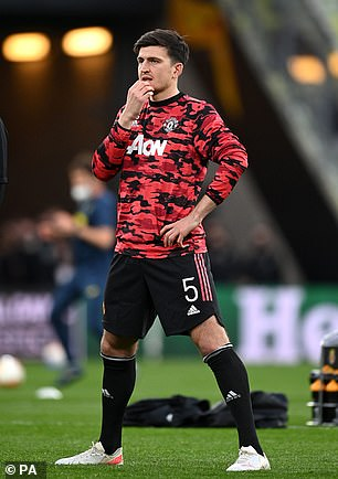 The 28-year-old has been out since picking up the knock during Manchester United's Premier League win at Aston Villa on May 9