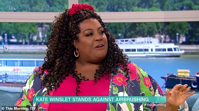 'She has no ego':Alison Hammond has praised Kate Winslet for refusing to be airbrushed in her latest role in Mare Of Easttown while speaking about the show on Wednesday's This Morning