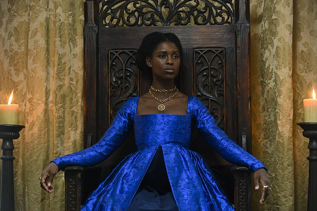 Jodie Turner-Smith is the first black actress to play Anne Boleyn and has addressed the role