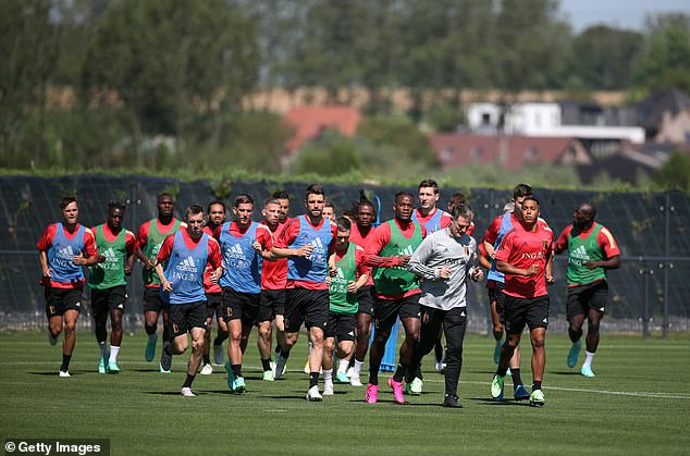 Half of Belgium's squad have refused a Covid jab ahead of Euro 2020, according to reports