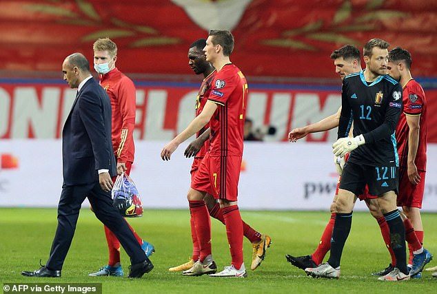 Belgium's vaccine tsar insists Roberto Martinez and the squad remain in favour of Covid jabs