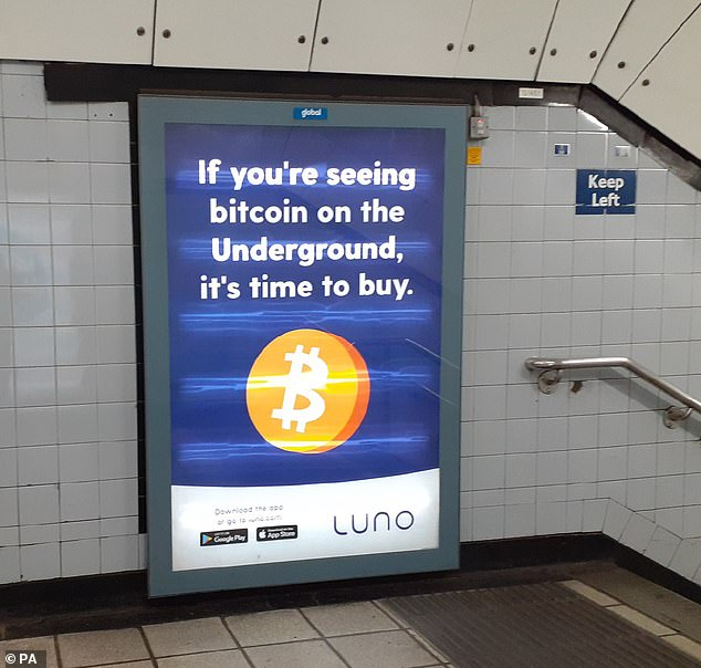 Cryptocurrency exchange Luno was told to take down adverts for failing to mention the massive risk involved in trading the likes of bitcoin