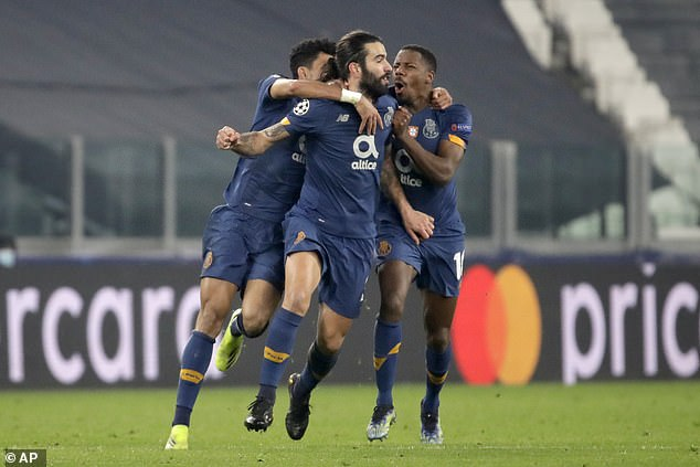 A goal from Porto's Sergio Oliveira in the 115th minute left Juventus reeling earlier this season