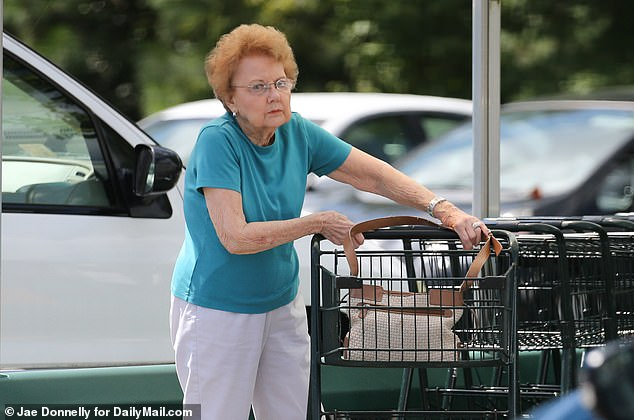Jo Ann Hinckley is seen in 2014 before her son was permitted to live with her in Virginia. Hinckley said he thinks money earned from selling his work could help his mother and brother