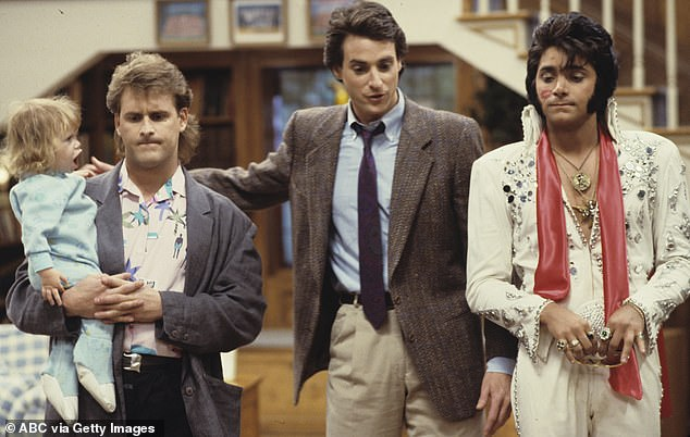 Premise: On Full HouseBob Saget plays a widower who finds himself unable to raise his three daughters alone and so moves his brother-in-law (John) and a pal (Dave Coulier) in to help