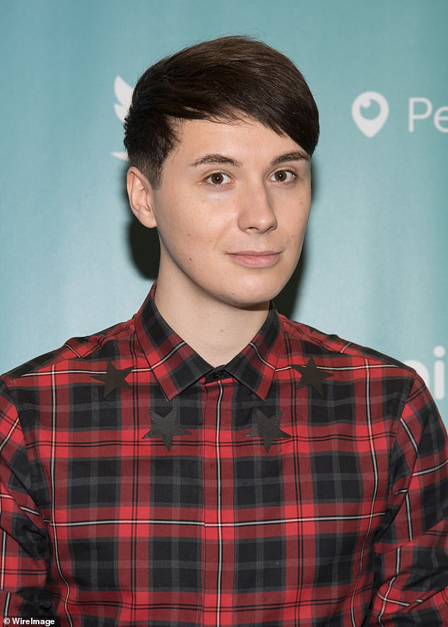 Getting involved:British author Daniel Howell will also celebrate YouTube Pride 2021 by taking a journey through his past, and asking - what would have been different if Dan was proud?