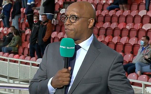 And Ian Wright has said that youngsters Foden and Sancho should start with Harry Kane
