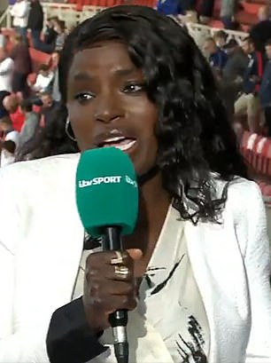 Aluko said that England need pace around Kane