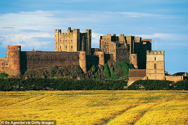 Spooky location:The Sun added that shooting will also take place at the 'haunted' Bamburgh castle situated on the northeast coast of England by the village of Bamburgh in Northumberland. The crew is reportedly 'spooked' by the famed Pink Lady