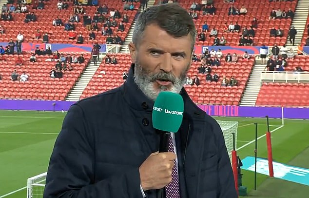 Roy Keane expressed concern for Alexander-Arnold, saying the right back 'looks in big trouble'