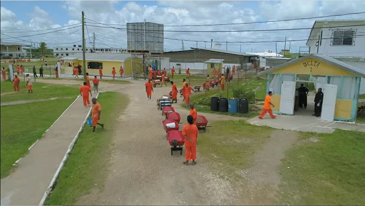 Even Belize's notorious Central Prison (pictured) – reputedly one of the worst in the world and where Miss Hartin was moved on Tuesday – has benefited directly from Lord Ashcroft