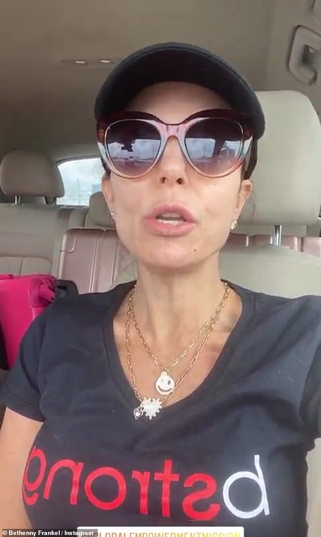 The latest:Bethenny Frankel, 50, took to Instagram Wednesday to fill fans in on her ongoing humanitarian efforts with her BStrong Foundation, currently aimed at providing aid to India in the wake of their crisis with coronavirus