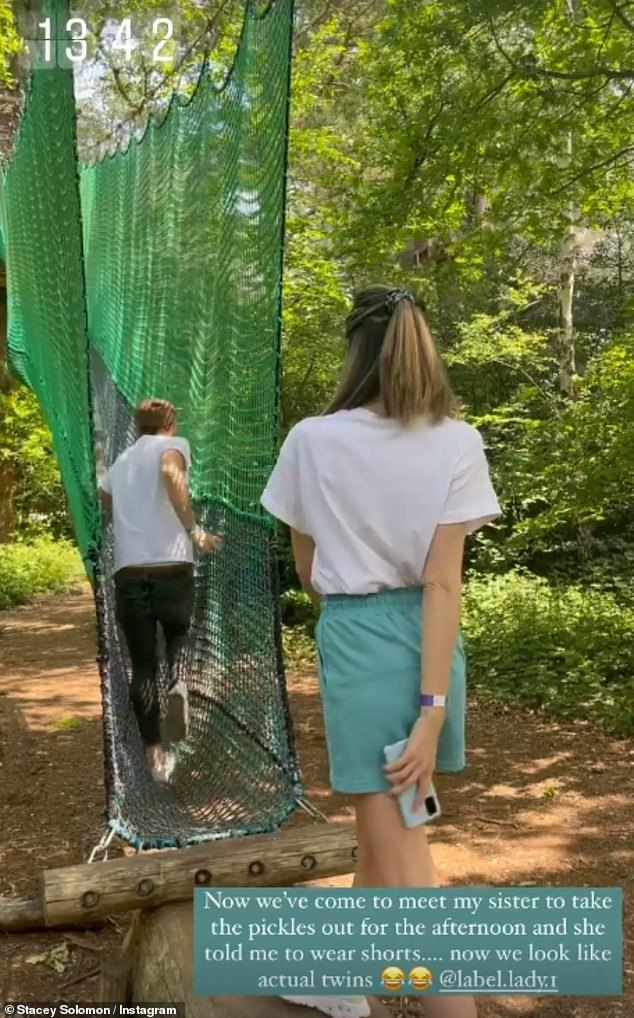 Such fun!On Wednesday, Stacey shared updates from her fun day out with her sister Jemma as they took the presenter's three children to an outdoor adventure playground