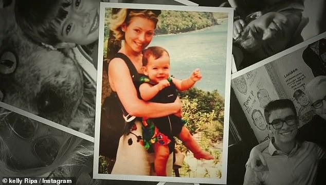 Birthday throwback:Kelly Ripa took to Instagram to wish her oldest child, son Michael Joseph Consuelos, a very happy birthday