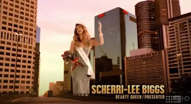 Claim to fame: Scherri-Lee is turning heads on the latest season of Celebrity Apprentice