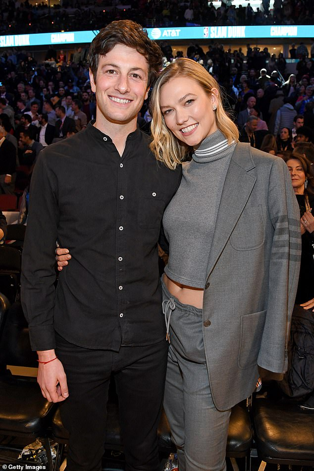 Longtime love:Karlie and Joshua first met in 2012 and tied the knot in 2018 after a three-month engagement (pictured in 2020)