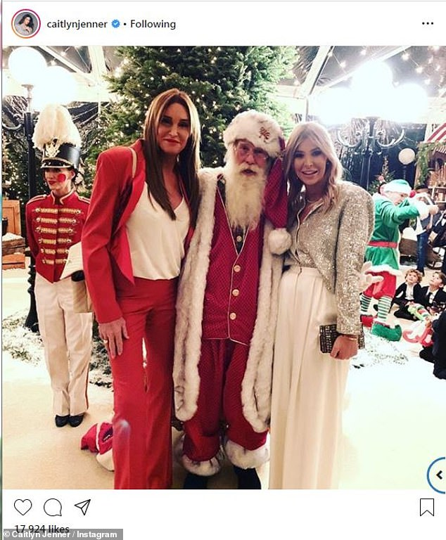 Staying close: The businesswoman eventually moved in with the reality television personality and the two spent the past holiday season in each other's company