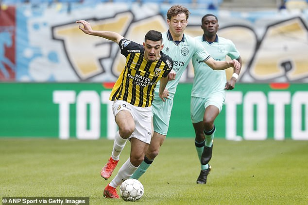Broja impressed at Vitesse Arnhem this year and is expected to be in Chelsea's top-flight ranks