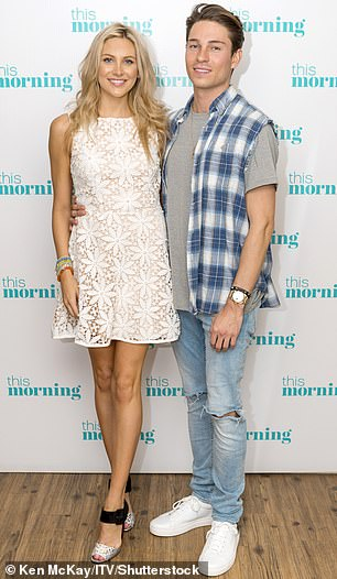 Hoping to find love: Joey hopes seeking happiness will help him find love (pictured with Stephanie Pratt)