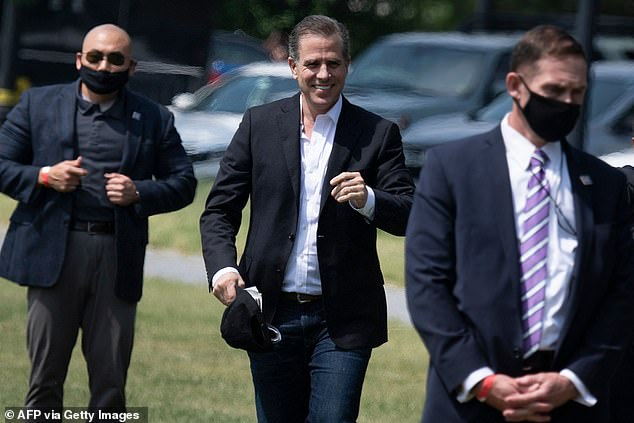 The Justice Department is investigating a Democratic consulting firm with ties to Hunter Biden for potential illegal lobbying
