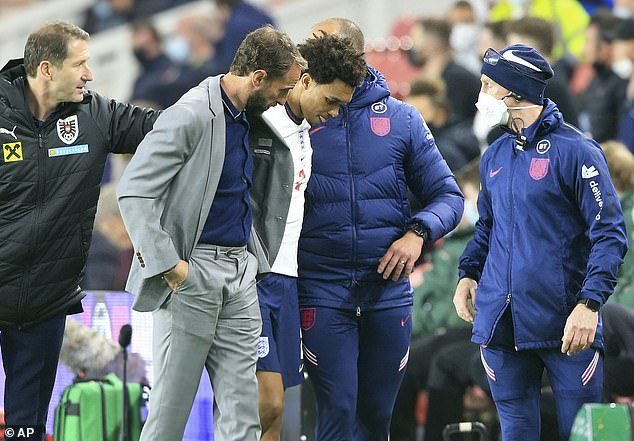 Gareth Southgate has another injury doubt to contend with now ahead of the Euros