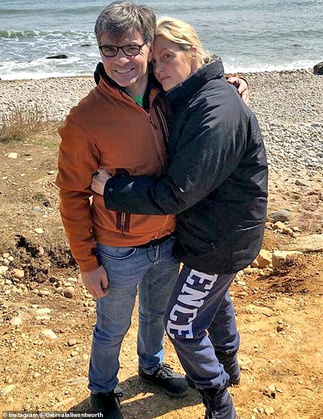 Coming up on 20 years: Ali and George have been married since late 2001 having gotten engaged just two months after the blind date where they were introduced