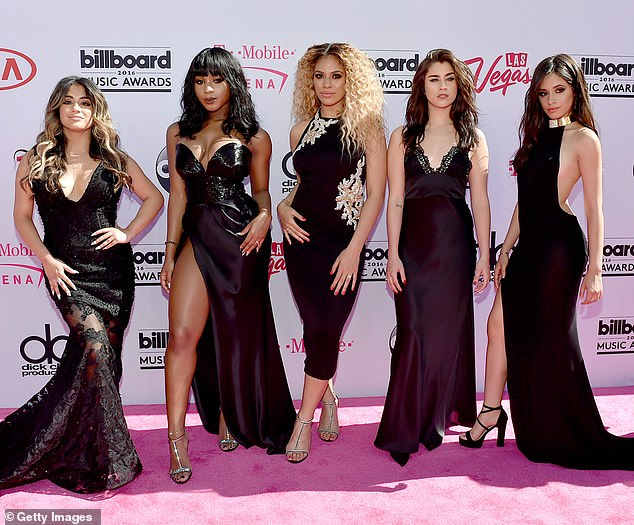 The band: She was with Fifth Harmony from 2012 until 2018 as she belted out hit songs like Work From Home with her band mates Camila Cabello, Normani Kordei, Dinah Jane and Lauren Jauregui. Seen in 2016